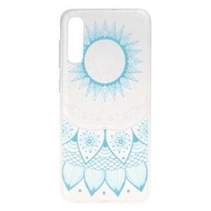Θήκη Samsung Galaxy A50 OEM σχέδιο Blue Flower Πλάτη TPU