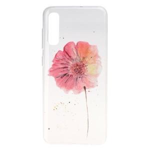 Θήκη Samsung Galaxy A50 OEM σχέδιο Beautiful Flower Πλάτη TPU