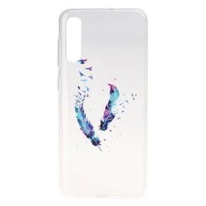 Θήκη Samsung Galaxy A50 OEM σχέδιο Colorized Feather Πλάτη TPU