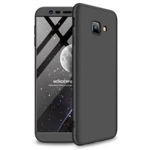 Θήκη Samsung Galaxy J4 Plus GKK Full body Protection 360° από σκληρό πλαστικό μαύρο