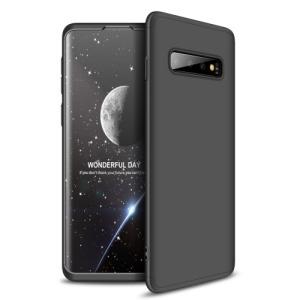 Θήκη Samsung Galaxy S10 GKK Full body Protection 360° από σκληρό πλαστικό μαύρο