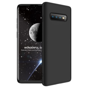 Θήκη Samsung Galaxy S10 Plus GKK Full body Protection 360° από σκληρό πλαστικό μαύρο