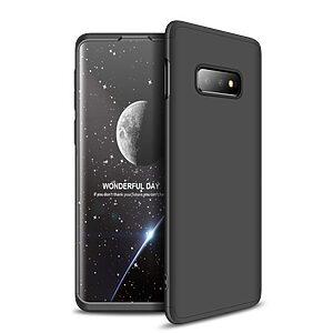 Θήκη Samsung Galaxy S10e GKK Full body Protection 360° από σκληρό πλαστικό μαύρο