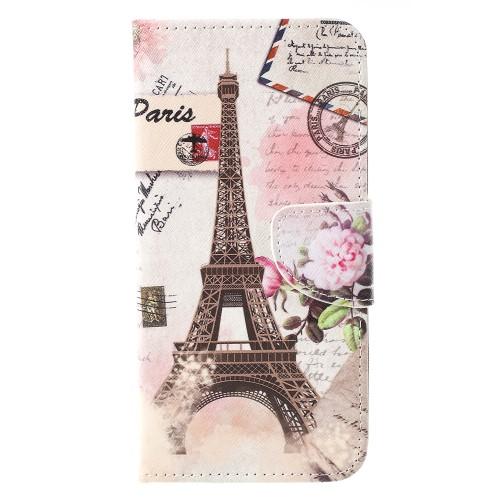 Θήκη Sony Xperia 10 OEM σχέδιο Eiffel Tower με βάση στήριξης