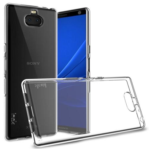 Θήκη Sony Xperia 10 Plus IMAK UX-5 Series 1.3mm Πλάτη διάφανη λευκό
