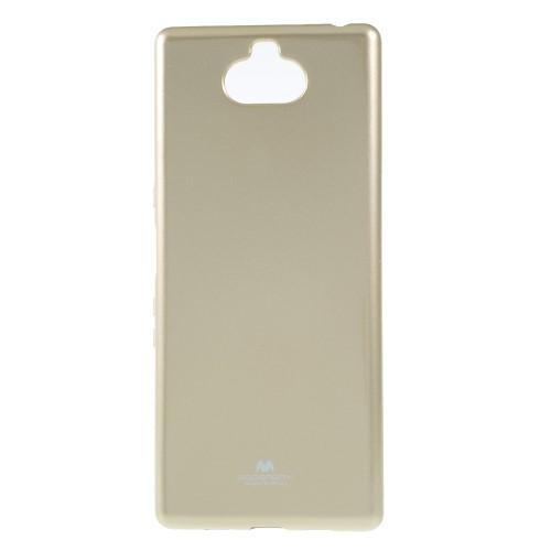 Θήκη Sony Xperia 10 Plus Mercury Goospery Jelly Glitter Πλάτη TPU χρυσό