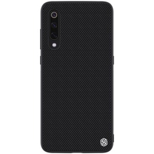 Θήκη Xiaomi Mi 9 NiLLkin Textured Hard Case Series Πλάτη TPU μαύρο