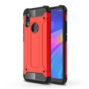 Θήκη Xiaomi Redmi 7 OEM Armor Guard Hybrid Πλάτη από σκληρό πλαστικό και TPU κόκκινο