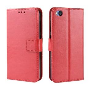 Θήκη Xiaomi Redmi Go OEM Crazy Horse Leather με βάση στήριξης