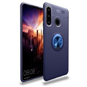 Θήκη Huawei P30 Lite OEM Magnetic Ring Kickstand / Μαγνητικό δαχτυλίδι / Βάση στήριξης πλάτη TPU μπλε