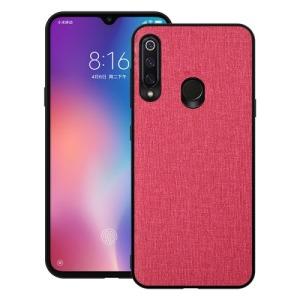 Θήκη Huawei P30 Lite OEM Cloth Texture πλάτη υφασμάτινη κόκκινο