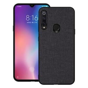 Θήκη Huawei P30 Lite OEM Cloth Texture πλάτη υφασμάτινη μαύρο