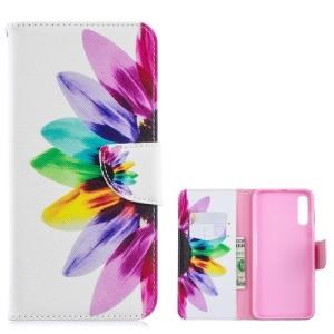 Θήκη Samsung Galaxy A70 OEM σχέδιο Colorful Petals με βάση στήριξης