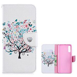Θήκη Samsung Galaxy A70 OEM σχέδιο Flowered Tree με βάση στήριξης