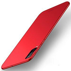 Θήκη Samsung Galaxy A70 MOFI Shield Slim Series πλάτη από σκληρό πλαστικό κόκκινο