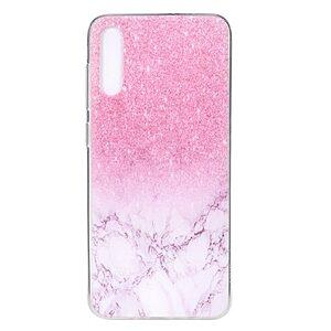 Θήκη Samsung Galaxy A70 OEM σχέδιο Pink Marble πλάτη TPU