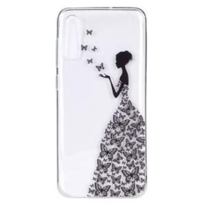 Θήκη Samsung Galaxy A70 OEM σχέδιο Butterfly Girl πλάτη TPU