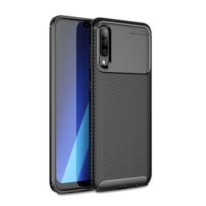 Θήκη Samsung Galaxy A70 OEM Beetle Series Carbon Fiber πλάτη TPU μαύρο