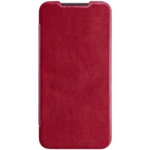 Θήκη Xiaomi Mi 9 SE NiLLkin Qin Series με υποδοχή για κάρτες Flip Wallet δερματίνη κόκκινο