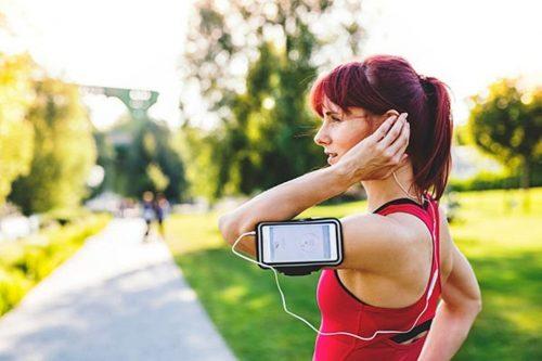 Θήκη Κινητού και Ακουστικά για Αθλητές