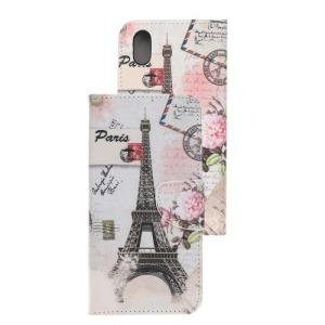 Θήκη Huawei Y5 (2019) OEM σχέδιο Eiffel Tower με βάση στήριξης