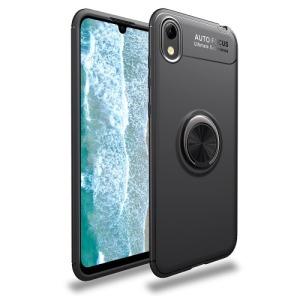 Θήκη Huawei Y5 (2019) OEM Magnetic Ring Kickstand / Μαγνητικό δαχτυλίδι / Βάση στήριξης Πλάτη TPU μαύρο