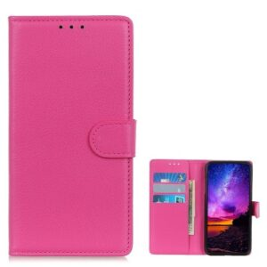 Θήκη Samsung Galaxy A10 OEM Litchi Texture Leather με βάση στήριξης