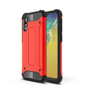 Θήκη Samsung Galaxy A10 OEM Armor Guard Hybrid Πλάτη από σκληρό πλαστικό Πλάτη TPU κόκκινο