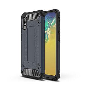 Θήκη Samsung Galaxy A10 OEM Armor Guard Hybrid Πλάτη από σκληρό πλαστικό Πλάτη TPU μπλε