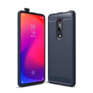 Θήκη Xiaomi Mi 9T / Redmi K20 / Pro OEM Brushed TPU Carbon Πλάτη TPU μπλε