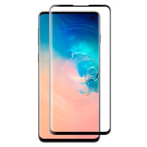 Full προστασία οθόνης tempered glass Πλήρους κάλυψης full glue 9H OEM 0.26mm για Huawei Y6 (2019) μαύρο