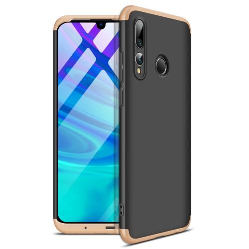 Θήκη GKK Full body Protection 360° από σκληρό πλαστικό για Honor 20 lite / Huawei P Smart+ (2019) μαύρο / χρυσό
