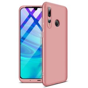 Θήκη GKK Full body Protection 360° από σκληρό πλαστικό για Honor 20 lite / Huawei P Smart+ (2019) ροζ χρυσό
