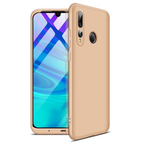 Θήκη GKK Full body Protection 360° από σκληρό πλαστικό για Honor 20 lite / Huawei P Smart+ (2019) χρυσό