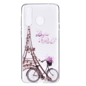Θήκη Honor 20 lite OEM σχέδιο Eiffel Tower & bicycle Πλάτη TPU