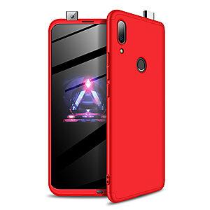 Θήκη GKK Full body Protection 360° από σκληρό πλαστικό για Huawei P Smart Z (2019) κόκκινο