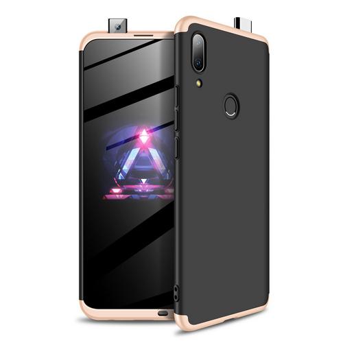 Θήκη GKK Full body Protection 360° από σκληρό πλαστικό για Huawei P Smart Z (2019) μαύρο / χρυσό