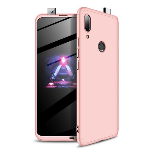 Θήκη GKK Full body Protection 360° από σκληρό πλαστικό για Huawei P Smart Z (2019) ροζ χρυσό