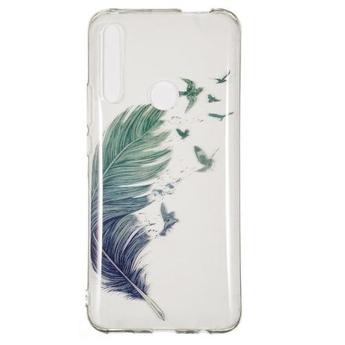 Θήκη Huawei P Smart Z OEM σχέδιο Feather and birds Πλάτη TPU