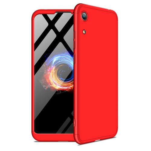 Θήκη GKK Full body Protection 360° από σκληρό πλαστικό για Honor 8A / Huawei Y6 (2019) κόκκινο