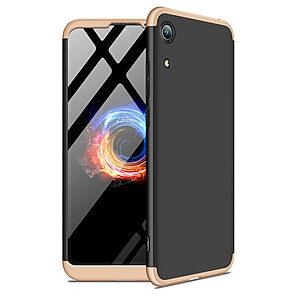 Θήκη GKK Full body Protection 360° από σκληρό πλαστικό για Honor 8A / Huawei Y6 (2019) μαύρο / χρυσό