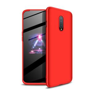 Θήκη GKK Full body Protection 360° από σκληρό πλαστικό για OnePlus 7 κόκκινο