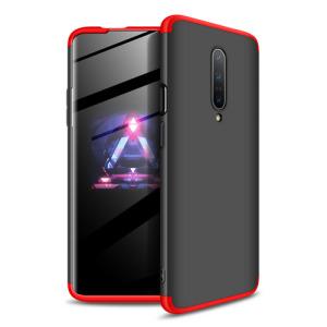 Θήκη GKK Full body Protection 360° από σκληρό πλαστικό για OnePlus 7 Pro μαύρο / κόκκινο