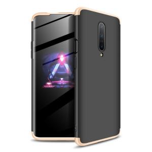 Θήκη GKK Full body Protection 360° από σκληρό πλαστικό για OnePlus 7 Pro μαύρο / χρυσό