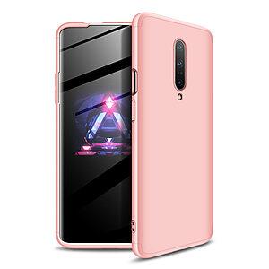 Θήκη GKK Full body Protection 360° από σκληρό πλαστικό για OnePlus 7 Pro ροζ χρυσό