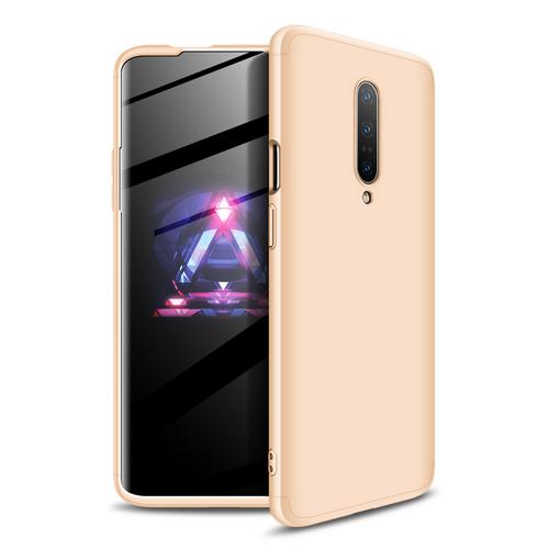 Θήκη GKK Full body Protection 360° από σκληρό πλαστικό για OnePlus 7 Pro χρυσό