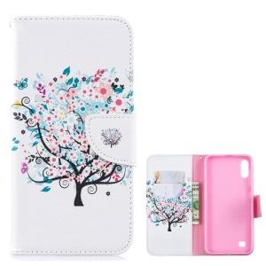 Θήκη Samsung Galaxy A10 OEM σχέδιο Flowered Tree με βάση στήριξης