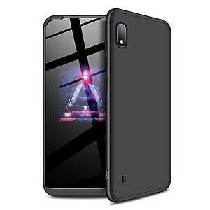 Θήκη GKK Full body Protection 360° από σκληρό πλαστικό για Samsung A10 μαύρο