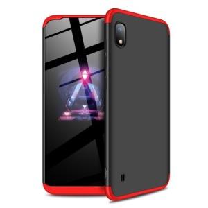 Θήκη GKK Full body Protection 360° από σκληρό πλαστικό για Samsung A10 μαύρο / κόκκινο