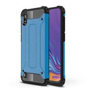 Θήκη Samsung Galaxy A10 OEM Armor Guard Hybrid Πλάτη από σκληρό πλαστικό και TPU γαλάζιο